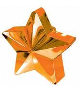 Balloon Weight Star Orange 150 g / 5.3 oz
