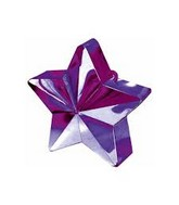 Balloon Weight Star Purple 150 g / 5.3 oz