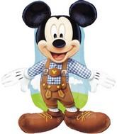"""28"""" Jumbo Mickey Lederhosen Foil Balloon"""
