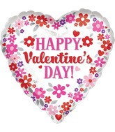 "9"" Happy Valentine's Day Flowers"