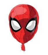 "18"" Standard ""Spiderman - Head"" Foil Balloon"