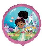 """18"""" Standard Nella the Princess Knight Foil Balloon"""