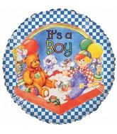 "18"" It's a Boy Party Foil Balloon"
