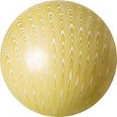 """18"""" Peacock Balloon Latex Balloon Gold (5 Count)"""
