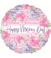 "17"" Happy Mother's Day Pink & Lavender Foil Balloons"