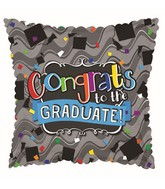 "17"" Congrats To The Grad Balloon"
