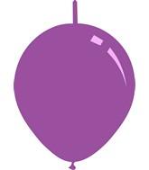 "11"" Standard Lavender Decomex Linking Latex Balloons (100 Per Bag)"