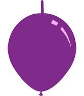 "11"" Standard Purple Decomex Linking Latex Balloons (100 Per Bag)"