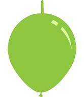 "11"" Deco Lime Green Decomex Linking Latex Balloons (100 Per Bag)"