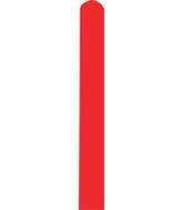 260D Standard Red Decomex Modelling Latex Balloons (100 Per Bag)