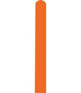 260D Standard Orange Decomex Modelling Latex Balloons (100 Per Bag)