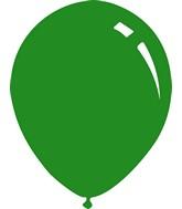 "18"" Standard Forest Green Decomex Latex Balloons (25 Per Bag)"