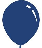 """9"""" Metallic Navy Blue Decomex Latex Balloons (100 Per Bag)"""