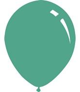 """9"""" Metallic Aqua Decomex Latex Balloons (100 Per Bag)"""