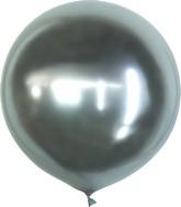 "36"" Kalisan Latex Balloons Mirror Silver (2 Per Bag)"