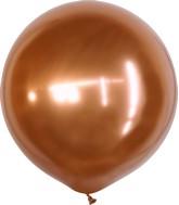 "36"" Kalisan Latex Balloons Mirror Copper (2 Per Bag)"