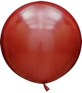 "36"" Kalisan Latex Balloons Mirror Red (2 Per Bag)"