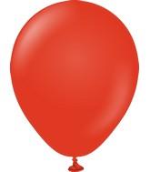 "5"" Kalisan Latex Balloons Standard Red (50 Per Bag)"