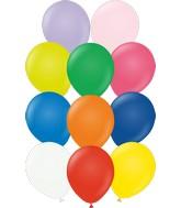 "12"" Kalisan Latex Balloons Standard Assortment (50 Per Bag)"