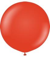 "36"" Kalisan Latex Balloons Standard Red (2 Per Bag)"