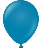 "5"" Kalisan Latex Balloons Retro Deep Blue (50 Per Bag)"