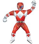 """67"""" AirWalkers Power Rangers Red Ranger Foil Balloon"""