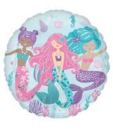 "18"" Shimmering Mermaid Foil Balloon"