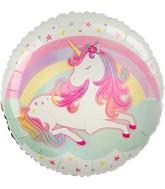 "18"" Enchanted Unicorn Foil Balloon"