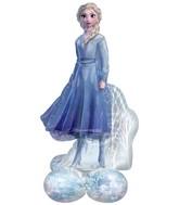 "54"" Airloonz Consumer Inflatable Frozen 2 Elsa Foil Balloon"