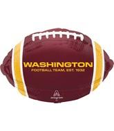 "17"" Washington Football Team Colors Foil Balloon"
