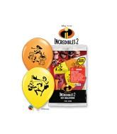 "12"" Latex Balloons (6 Per Bag) Special Assortment The Incredibles 2"