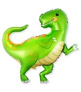 """33"""" Baby Dino Foil Balloon"""
