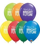 "11"" Latex Balloons Carnival Assorted (50 Per Bag) Simply Bright Future"