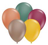 "11"" Autumn Assortment Tuftex Latex Balloons 100 CT"
