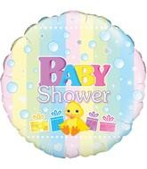"""18"""" Baby Shower Oaktree Foil Balloon"""