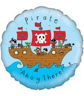 "18"" Pirate Oaktree Foil Balloon"