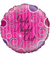 "18"" Girls Night Out Oaktree Foil Balloon"