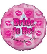 "18"" Bride To Be Oaktree Foil Balloon"