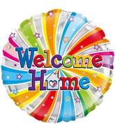 """18"""" Welcome Home Swirl Oaktree Foil Balloon"""