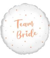 """18"""" Team Bride Oaktree Foil Balloon"""