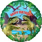 "18"" Jurassic Dinosaur Birthday Oaktree Foil Balloon"