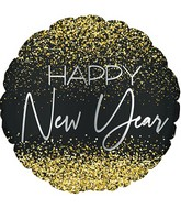 "17"" New Year Crazy Confetti Nl Foil Balloon"