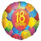 "18"" 18th Birthday Balloons"