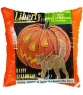 "18"" Liberty Stamp Halloween Balloon"