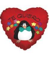 """9"""" Airfill Te Quiero Pinguino"""