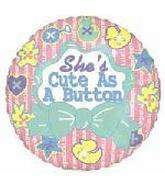 """33"""" She's Cute as a Button"""