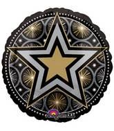 """18"""" Glitter Starz Print Balloon"""