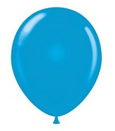 """24"""" Blue Latex Balloons 5 Count"""
