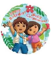 "18"" Dora & Diego Birthday"