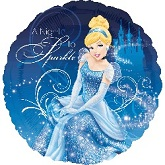 "18"" Princess Cinderella Night To Sparkle"